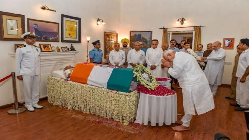 अटलजींच्या निधनाने अवघा देश हळहळला, शुक्रवारी होणार अंत्यसंस्कार