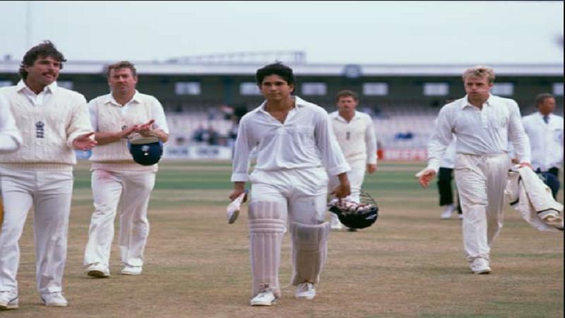 भारतीय संघाने सचिनच्या या 119 धावांच्या जोरावर  343/6 चा स्कोर बनवला आणि त्यामुळे ती मॅच ड्रॉ झाली.