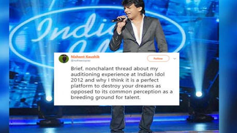 Indian Idol च्या ऑडिशनची आतली गोष्ट, 'पाणी मागितले म्हणून कानशिलात लगावली'