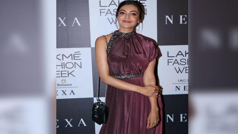 'सिंघम'फेम अभिनेत्री काजलनंही या फॅशन शोला उपस्थिती लावली.