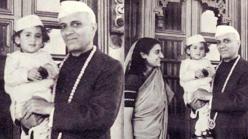 इंदिरा गांधी आणि फिरोज गांधी यांचा मोठा मुलगा राजीव गांधी यांच जन्म २० ऑगस्ट १९४४ मध्ये मुंबई येथे झाला. राजीव गांधी यांचे आजोबा जवाहरलाल नेहरू हे देशाचे पहिले पंतप्रधान होते.