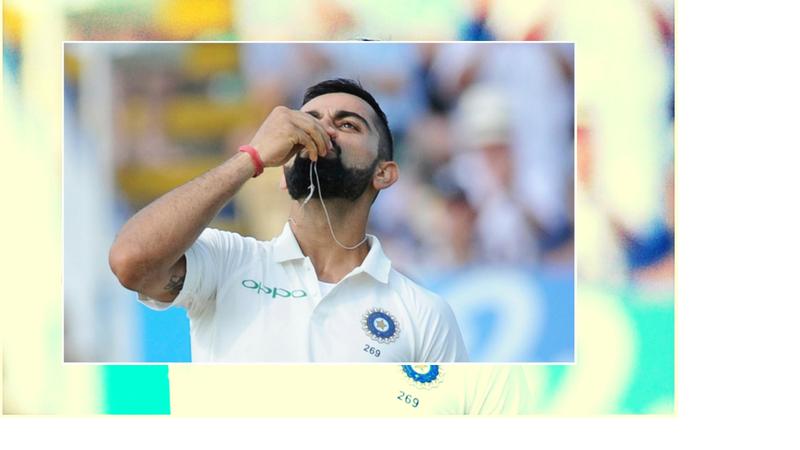 03 ऑगस्ट : इंग्लंडविरुद्ध एजबेस्टन कसोटीत टीम इंडियाने पहिल्या डावात 274 धावा केल्या. यात एकट्या कॅप्टन विराट कोहलीने 149 धावांनी मॅरेथॉन खेळी केली आणि संघाची आघाडी मिळविली. या सामन्यात त्याने सगळे रेकॉर्ड हाणून पाडले. यात त्याने अनेक रेकॉर्ड आपले नावे केले आहेत.