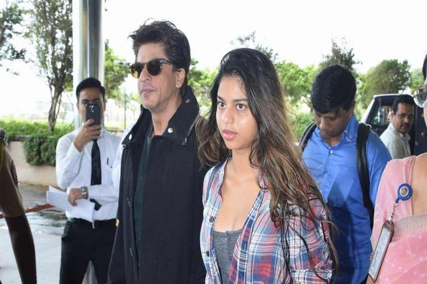 Shahrukh - Suhana : बाप-लेकीची जोडी चालली तरी कुठे?