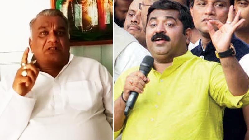 'राम कदमांची जीभ छाटा, 5 लाख घेऊन जा', माजी मंत्र्यांचं वक्तव्य