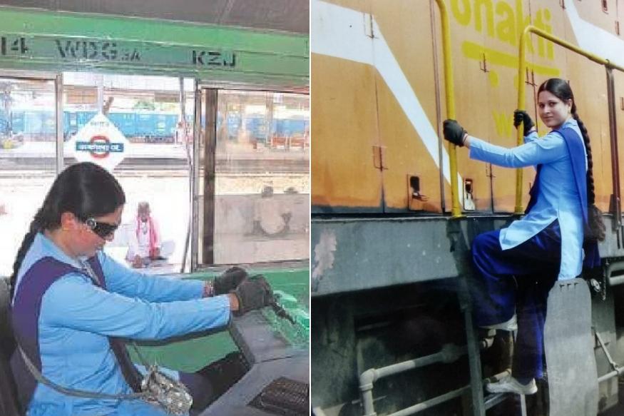 #Durgotsav2018 : 'स्वप्ना'तली जिद्द प्रत्यक्षात उतरविणारी रेल्वे इंजिन ड्रायव्हर