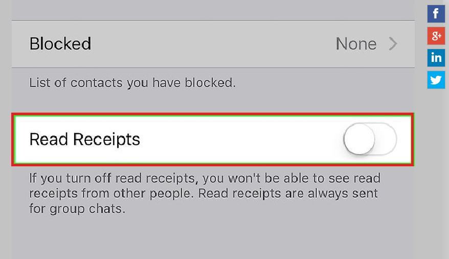 Disable Blue Tick : हे फिचर दुर्लक्ष करण्यासाठी तयार केलं आहे. या फिचरचा वापर केल्यास समोरच्या व्यक्तीने तुमचा मेसेज वाचला आहे की नाही हे समजते. वापर करण्यासाठी तुम्ही setting मध्ये जाऊन Account क्लिक करा. त्यात तुम्हाला Privacy पर्याय दिसेल. त्यावर क्लिक करून Read Reciept नावाचं पर्याय Desable करावं लागेल.