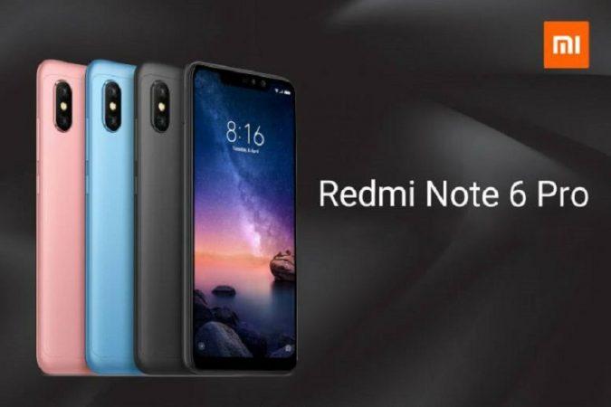 चीनची कंपनी शिओमीने नवा स्मार्टफोन Redmi Note 6 Pro लॉन्च केला. या फोनला दिल्लीतील एका कार्यक्रमात लॉन्च करण्यात आलं. सगळ्यातआधी Redmi Note 6 Pro फोन थायलँडमध्ये लॉन्च करण्यात आला. यानंतर नोव्हेंबरच्या सुरूवातील हा फोन इंडोनेशियात लॉन्च करण्यात आला.