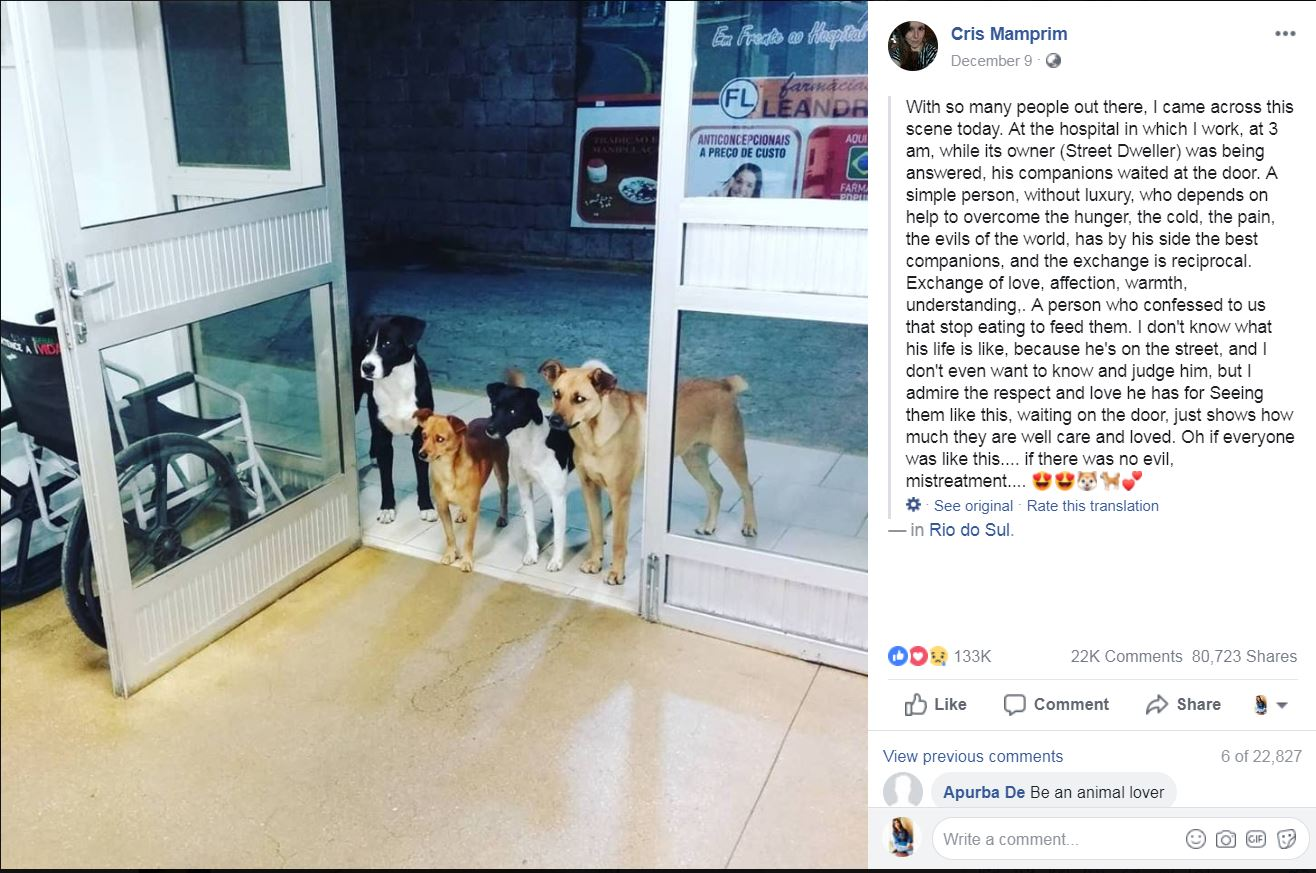 ही घटना ब्राझीलच्या एका हॉस्पिटलमधली आहे. या हॉस्पिटलची नर्स Cris Mamprim ने सोशल मीडियावर ही घटना सांगितली.