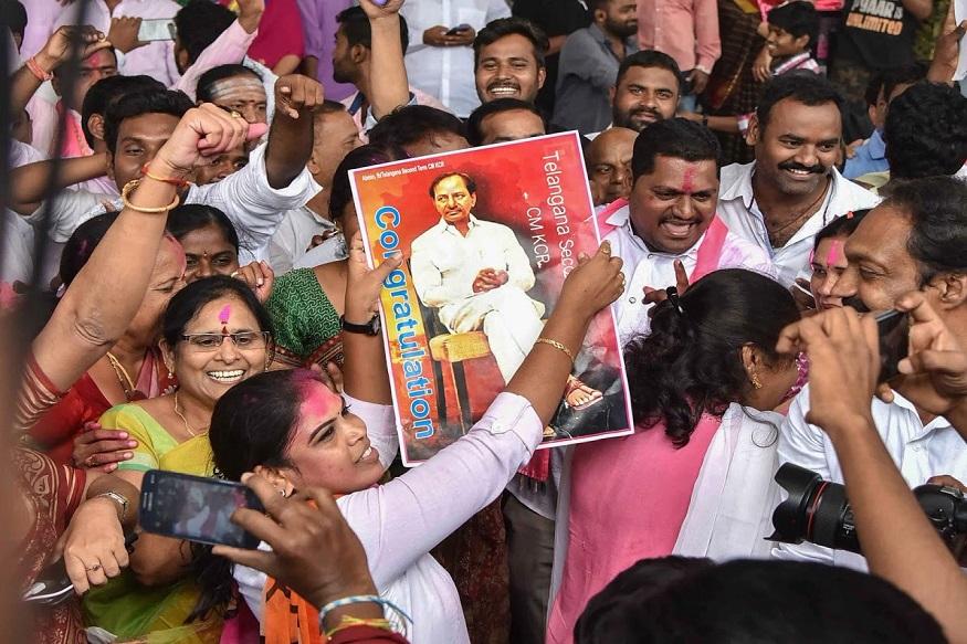 Assembly Election Result 2018 LIVE : तेलंगणात TRSचा झेंडा, महाआघाडीचा धुव्वा!