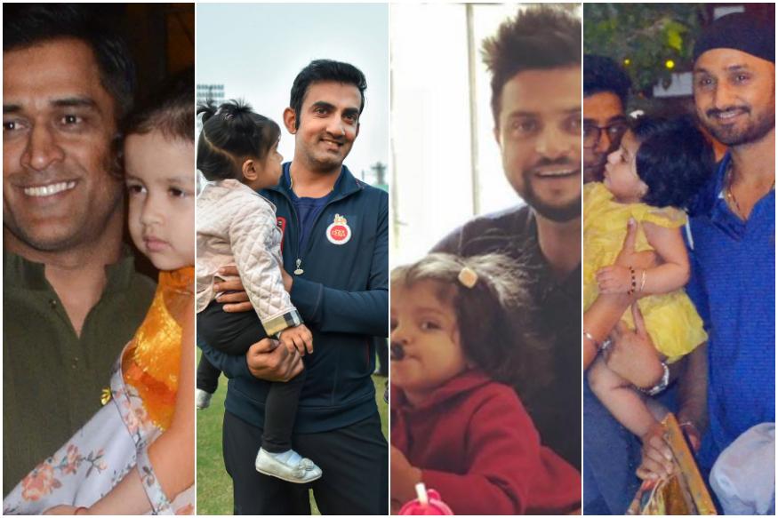 Girl Power : फक्त रोहित नाही तर या हे भारतीय क्रिकेटरही आहेत 'लकी डॅडी'