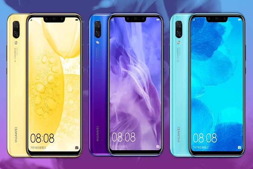 Huawei Nova 3 : अॅमेझॉन हॉली डे सेल अंतर्गत या स्मार्टफोनवर तब्बल 10 हजारांची सूट देण्यात आली आहे. हुवाई नोवा-3 स्मार्टफोन खरेदी करायचा असेल तर तुम्हाला फक्त 29,999 रुपये मोजावे लागतील. याशिवाय फोनवर 8,926 रुपयांचं एक्सचेंज ऑफरसुद्धा मिळणार आहे.