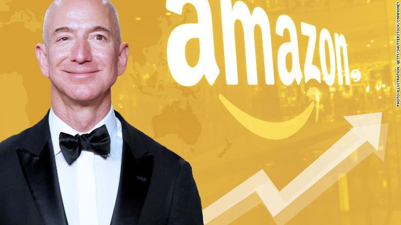 अॅमेझॉन.कॉम या ई कॉमर्स कंपनीचे मालक आहेत जेफ बेझॉस. जगातली या घडीची सर्वांत श्रीमंत व्यक्ती म्हणून त्यांचं नाव घेतलं जातं.