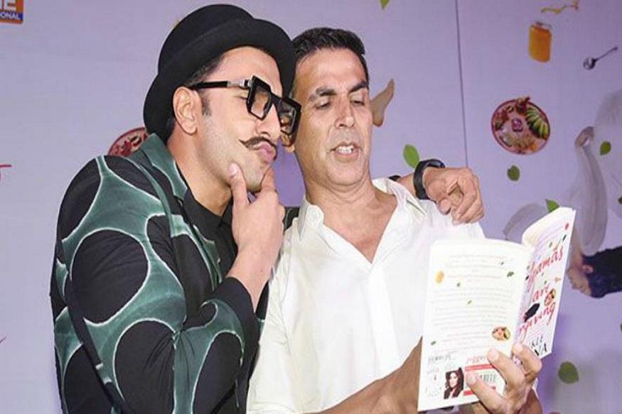 रणवीरनं अक्षय कुमारला टाकलं मागे, पण नंबर वन 'हाच' अभिनेता