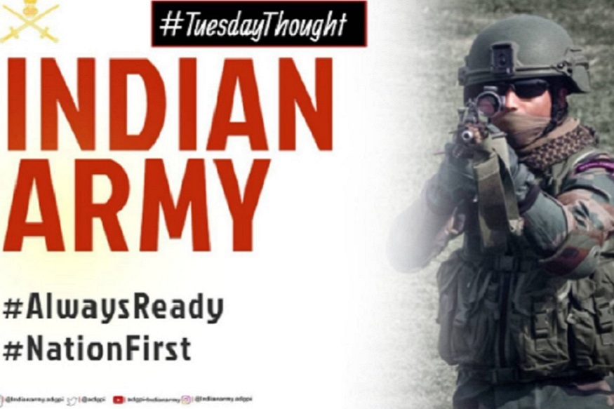 #Surgicalstrike2 केल्यानंतर लगेचच भारतीय सैन्याने ट्वीट केली ही अभिमानास्पद कविता