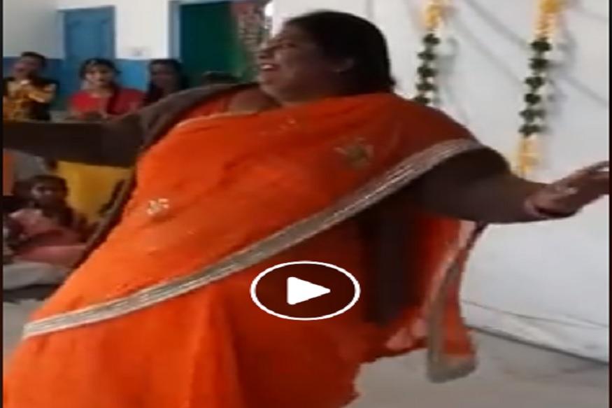 Viral Video- 'लडकी आंख मारे' गाण्यावरचा या महिलेचा डान्स पाहिलात का? हसून हसून थकाल