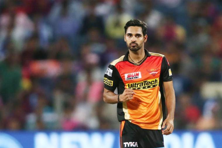 IPL 2019 : 6 4 4 2 4 4... संजू सॅमसनकडून भुवनेश्वर कुमारची धुलाई, पाहा VIDEO