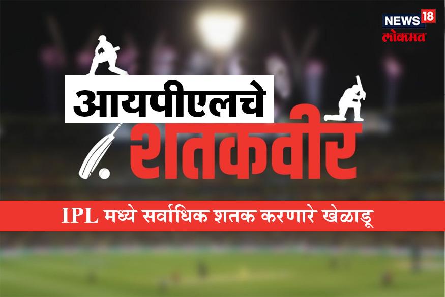 संपुर्ण क्रिकेट विश्वाचे लक्ष वेधून घेणाऱ्या IPL चा नवा हंगाम सुरू झाला आहे.IPL मध्ये जो खेळाडू चमकतो त्याचे क्रिकेट विश्वातील स्थान उंचावते, तसेच यंदाचा IPL हंगाम हा वर्ल्ड कपचा सरावच आहे. IPL मध्ये या पाच खेळाडूंनी सर्वाधिक शतकं ठोकण्याचा विक्रम केला आहे.