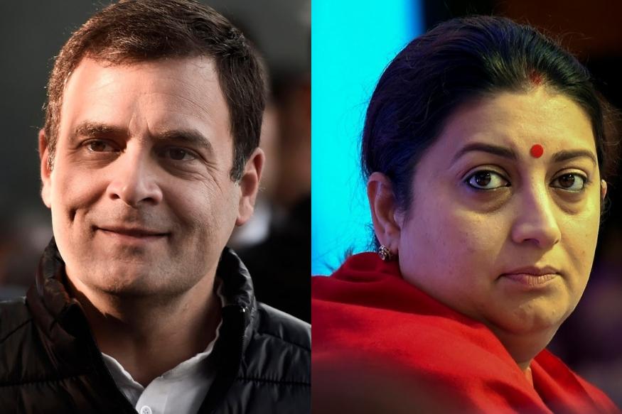 Loksabha election 2019 अमेठीत पुन्हा रंगणार राहुल गांधी विरुद्ध स्मृती इराणी यांच्यात सामना