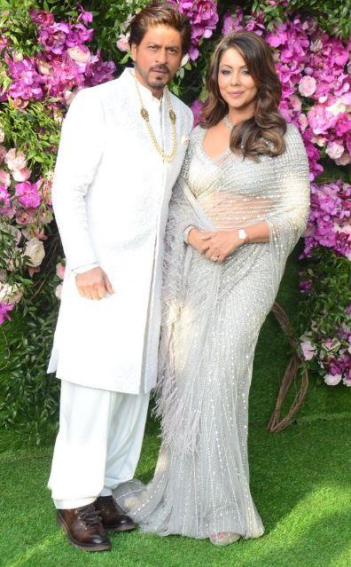 शाहरूख आणि गौरी खान