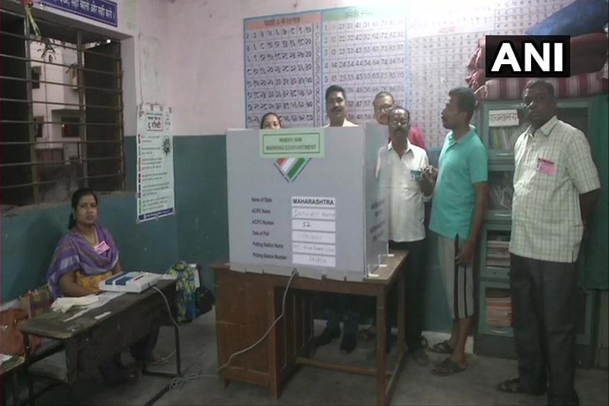 आंध्र प्रदेशमध्ये 100 EVM खराब, मतदान ठप्प