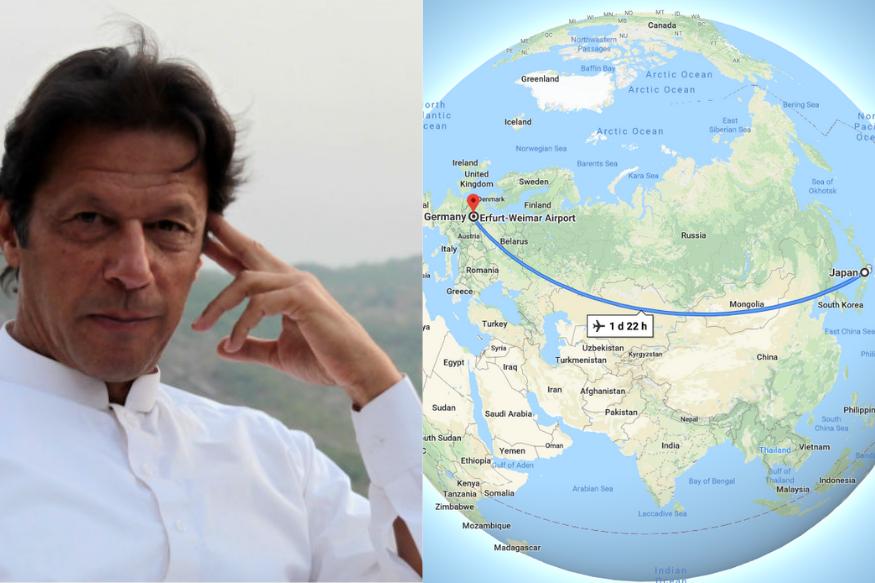 VIDEO : इम्रान खान म्हणतात, 'जर्मनी आणि जपान हे शेजारी देश'!