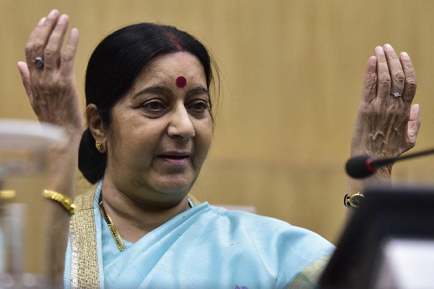 राहुलच्या 'जोड्या'वरून वाद पेटला, सुषमा स्वराज यांनी या शब्दात दिलं उत्तर