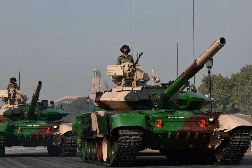 T-90MS रणगाड्यांमध्ये जास्त मारा करण्याची क्षमता आहे.