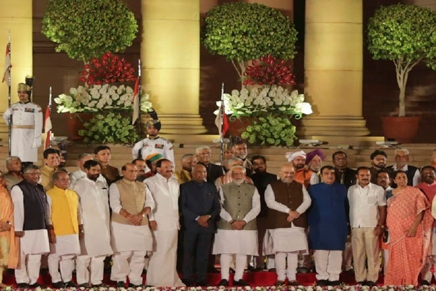 'मैं ईश्वर की शपथ लेता हूं कि...', नरेंद्र मोदी दुसऱ्यांदा पंतप्रधानपदी विराजमान