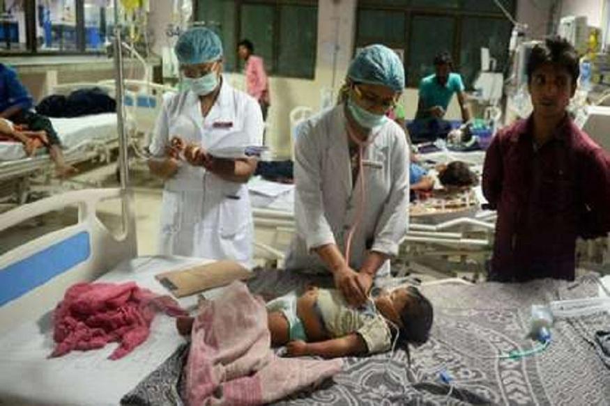 बिहारमध्ये चमकी तापामुळे 60 मुलांचा मृत्यू