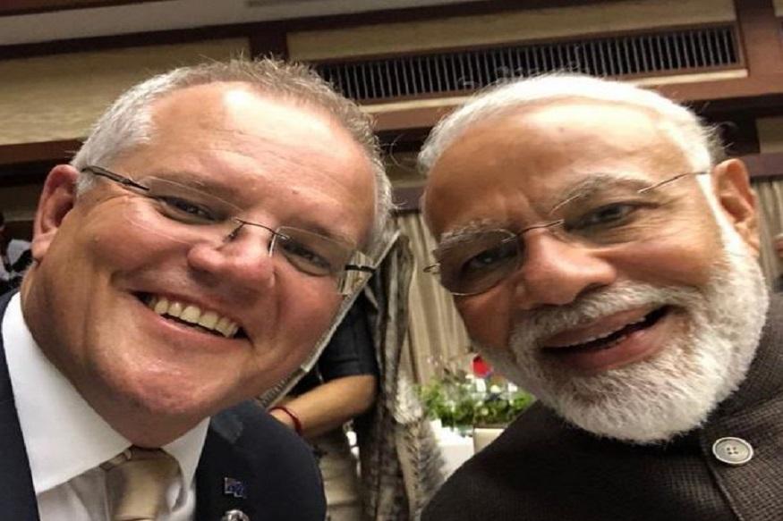 G-20 SUMMIT: 'मोदी...तुम्ही किती चांगले आहात', ऑस्ट्रेलियन PMने सेल्फी घेत केलं कौतुक