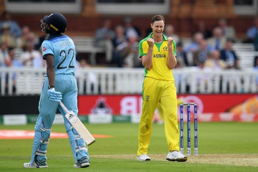 World Cup : इंग्लंडला 221 धावांत गुंडाळलं, ऑस्ट्रेलियाचा 64 धावांनी विजय