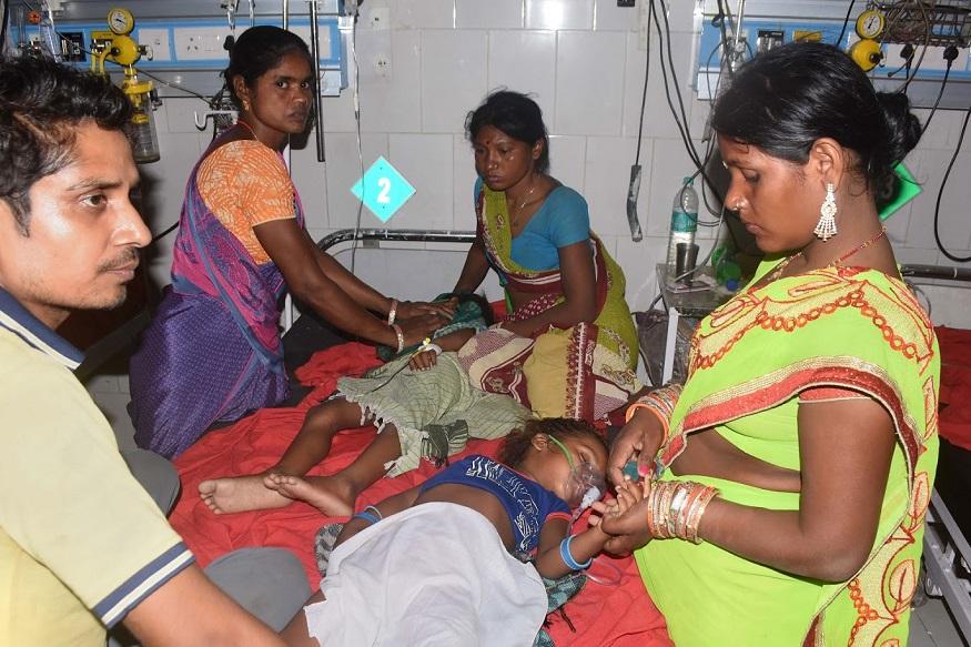बिहारमध्ये 'चमकी' तापाचं थैमान, मुलांच्या मृत्यूची संख्या 125वर