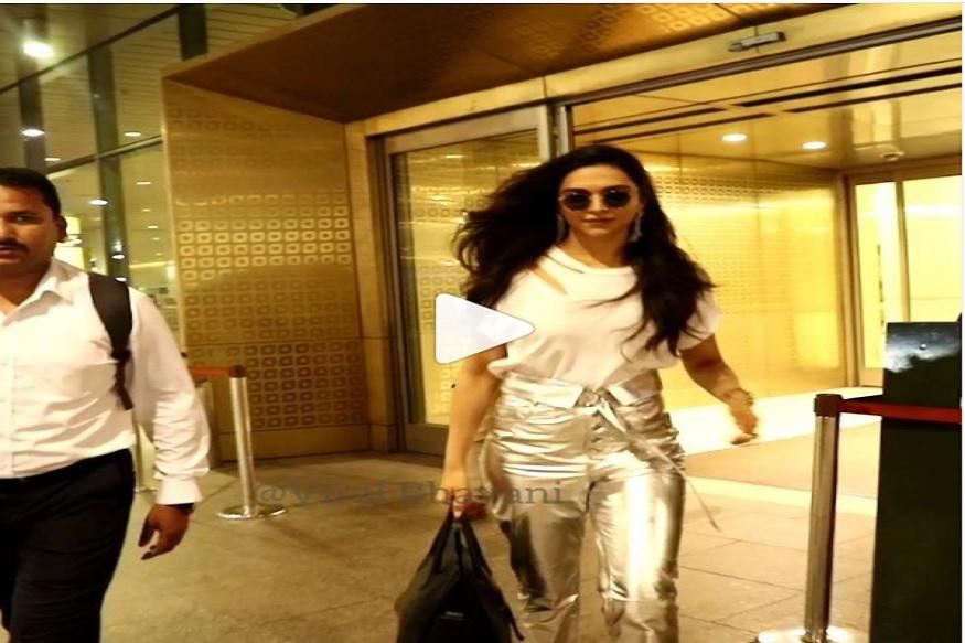 VIDEO: गाडीत बसताना फोटोग्राफर काढत होता दीपिकाचे फोटो, ती म्हणाली, 'ये आता आत बस...'