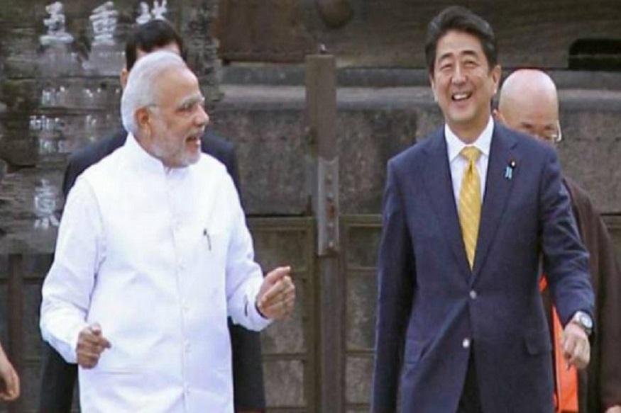 ऑगस्ट 2014 मध्ये जपानचे पंतप्रधान शिंजो आबे यांनी प्रोटोकॉल तोडून पंतप्रधान मोदींना क्योटो शहरातून फिरवून आणलं होतं.