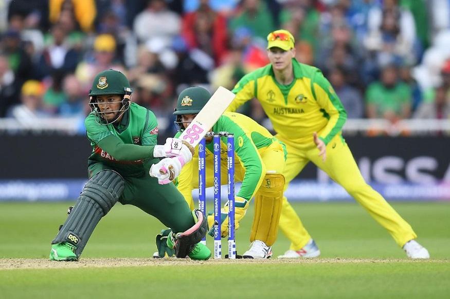 ऑस्ट्रेलियाचा 48 धावांनी विजय, बांगलादेशनं शेवटपर्यंत दिली झुंज!