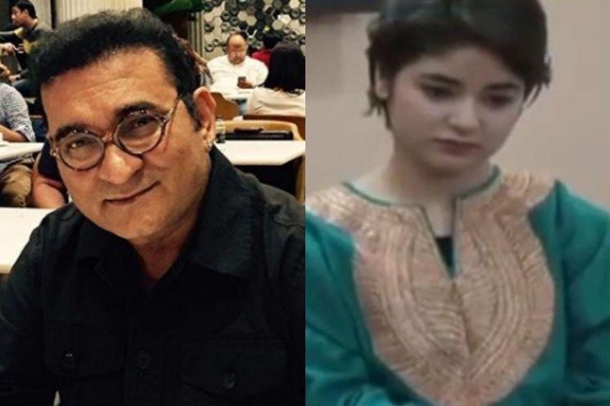 बॉलिवूडला रामराम ठोकणारी झायरा वसीम झाली ट्रोल, गायक अभिजीतने केले गंभीर आरोप Zaira Wasim
