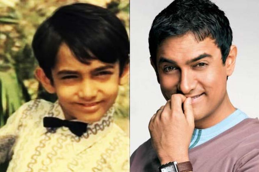 आमिर खानसुद्धा बालकलाकार म्हणून हिंदी चित्रपटांमध्ये झळकला होता.