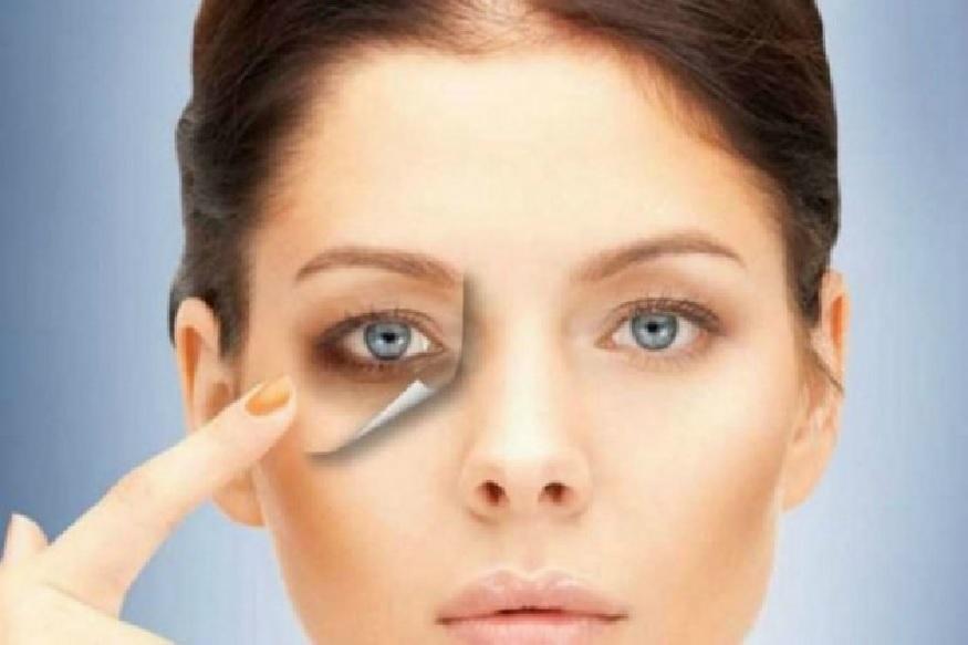 . काकडी आणि लिंबाचा रस एकत्रित करून डोळ्याखाली 20 मिनिटांपर्यंत लावून ठेवावा. त्यामुळे डोळे अधिकच आकर्षक वाटतील.