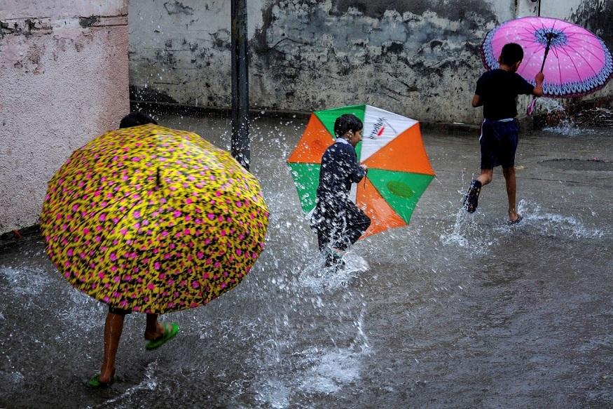 मुंबईत जोरदार पाऊस, 7 जुलैपर्यंत 'या' भागांत मुसळधार पावसाची शक्यता