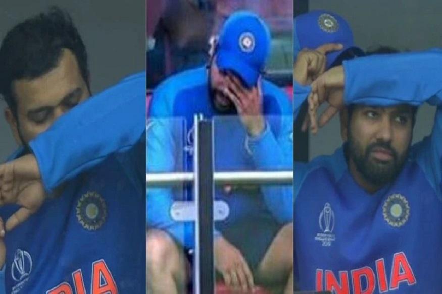 World Cup : पुन्हा एकदा भंगलं रोहित शर्माचं स्वप्न, सोशल मीडियावर व्यक्त केलं दु:ख