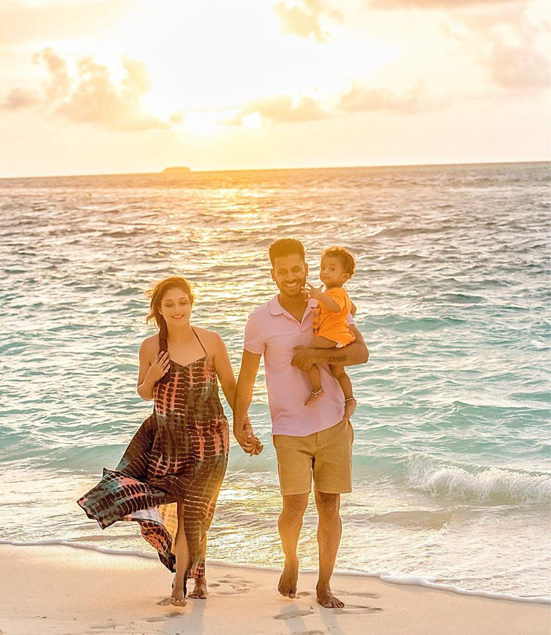 2018मध्ये मनोज आणि सुष्मिता यांना पुत्ररत्न झाला. लग्नानंतर पाच वर्षांनी आई-बाबा झाल्यानंतर मनोजनं आनंद व्यक्त केला होता.
