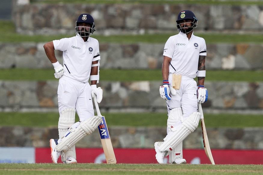कर्णधार विराट कोहली आणि अजिंक्य रहाणे यांची अर्धशतके झाली असून दोघेही खेळत आहेत. सध्या भारताकडे 260 धावांची आघाडी आहे.