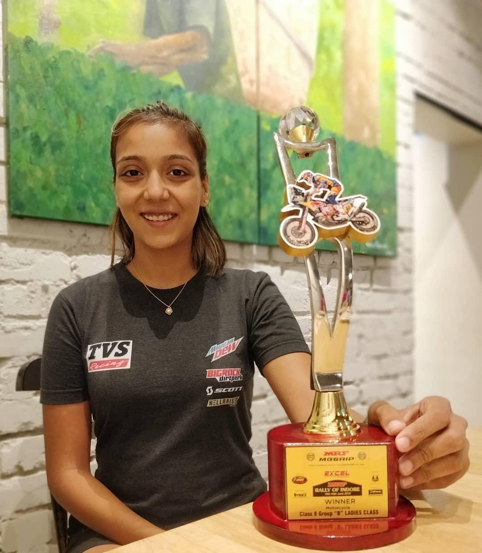 मोटरस्पोर्ट्सच्या कुठल्याही प्रकारात जागतिक विजेतेपद मिळवणारी ऐश्वर्या पहिली भारतीय स्त्री ठरली आहे.