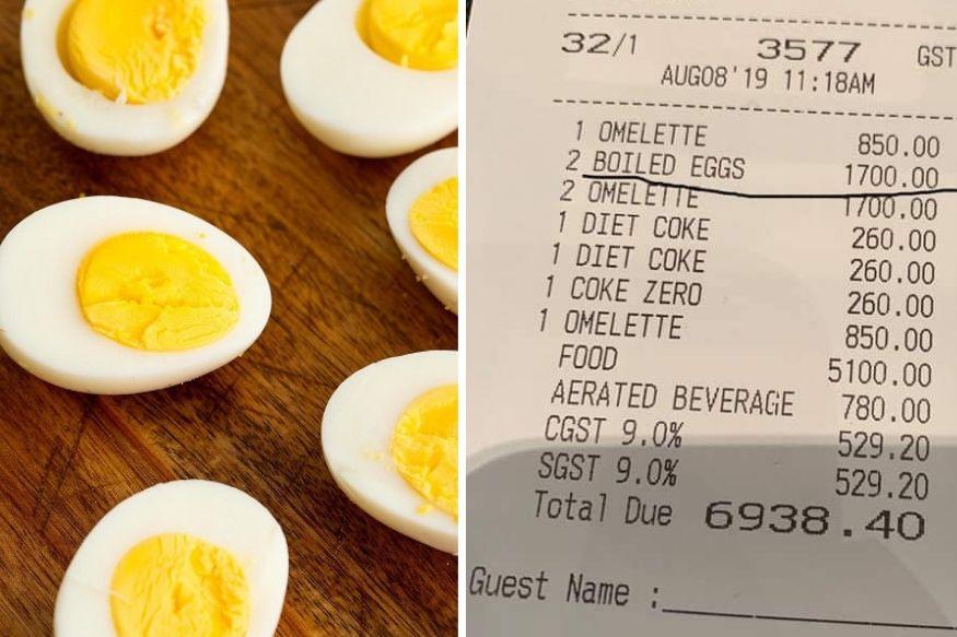 राहुल बोसला 2 केळ्यांसाठी मिळालं 400चं बिल, आता अंड्यांसाठी घेतले 1700 रुपये!
