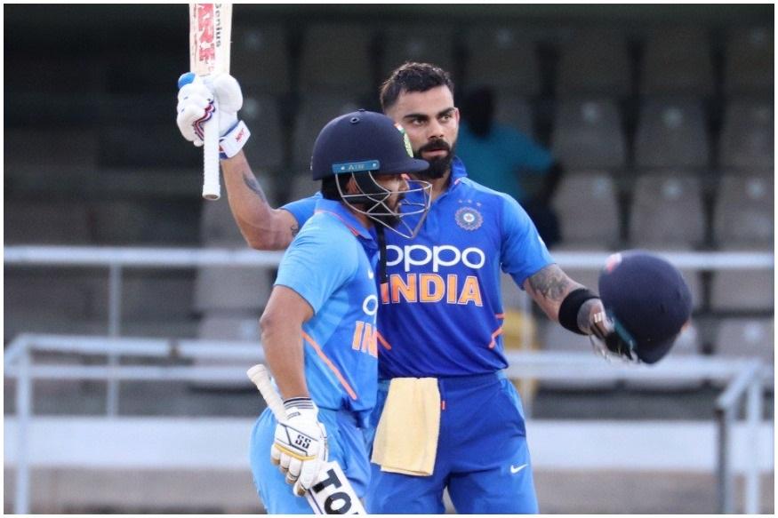 भारताचा कर्णधार विराट कोहलीनं विंडीजविरुद्ध सलग दुसरं शतक झळकावलं. या शतकासह त्याने अनेक विक्रमांना गवसणी घातली. तिसऱ्या एकदिवसीय सामन्यात त्यानं नाबाद 114 धावांची खेळी केली. या खेळीच्या जोरावर भारतानं सामन्यासह एकदिवसीय मालिका 2-0 ने जिंकली.