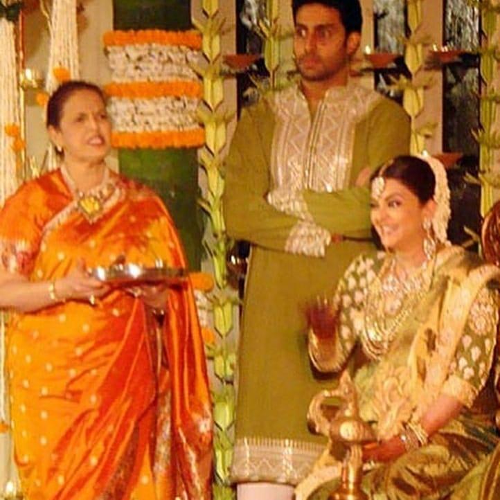 ऐश्वर्या राय बच्चन तिच्या आईसोबत