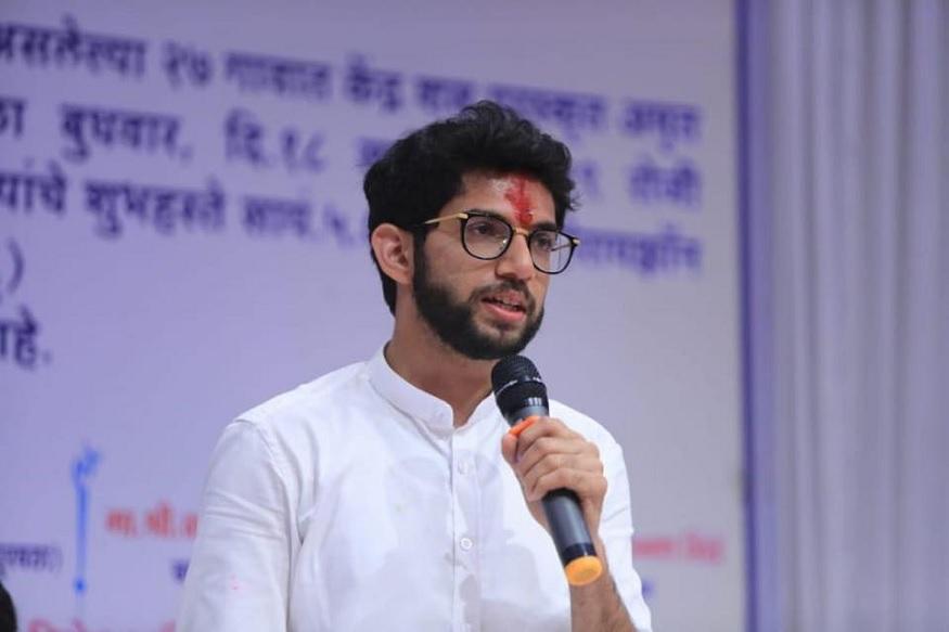 आदित्य यांनी सेन्ट झेवियर्स कॉलेजमधून इतिहासाचं शिक्षण घेतलं तर मुंबईतील के.सी. कॉलेजमधून त्यांनी कायद्याचं शिक्षण घेतलं.