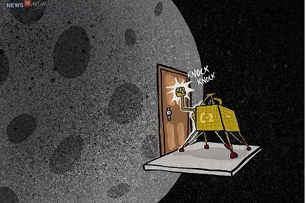 विक्रम लँडरशी संपर्क करण्यासाठी नासा इस्रोला मदत करत आहे. चांद्रयान -2 च्या ऑर्बिटर आणि लँडरशी संपर्क साधण्यासाठी डीप स्पेस नेटवर्कच्या तिन्ही केंद्रांमधून प्रयत्न सुरू आहेत.