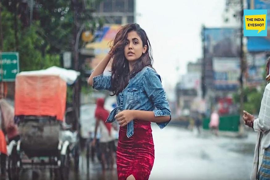 ही फॅशन डिझाइनिंगची विद्यार्थीनी असल्याची माहिती समोर आली आहे. तिने तिच्या प्रोफेशननुसार पावसाची परिस्थीत दाखवली असं या तरुणीचं आणि तिच्या मित्रांचं म्हणणं आहे.