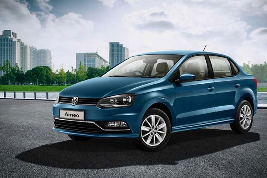 Volkswagen Ameo या गाडीवर 1 लाख 31 हजार रुपयांपर्यंत सूट मिळत आहे.